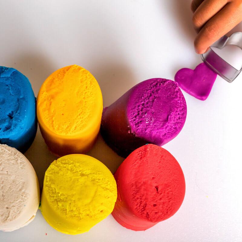 play dough sensory tool