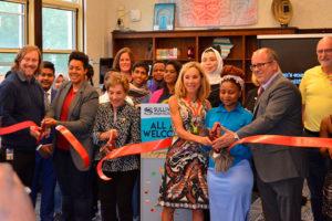 Sullivan High School Ribbon Cutting Ellen Glasser Global Center