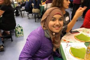 Sullivan High School Student on thanksgiving